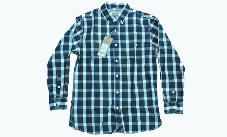 Jiren Fashion Brand Long Sleeve Plaid Men's Shirts