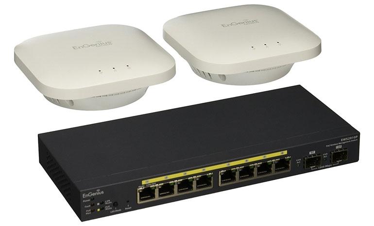 EnGenius EWS- 2910P-KIT-300 Neutron Series WLAN Starter Kit Wireless Access Point