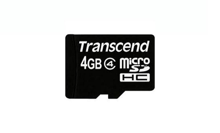 4GB microSDHC Class 4 w/ adapter