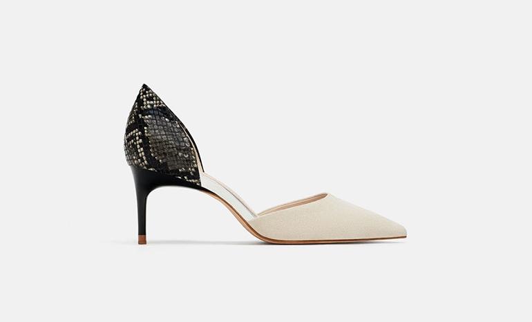 Zara heeld shoes