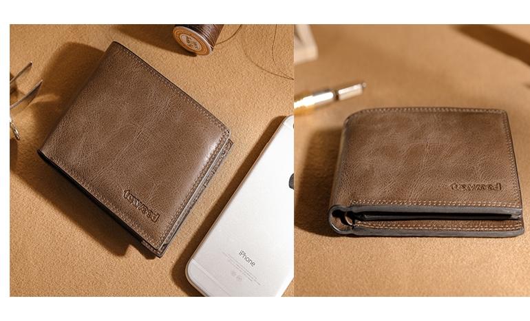 Pierre Cardin Wallet Men's soft leather wallet