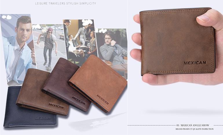 Scarecrow wallet men's
