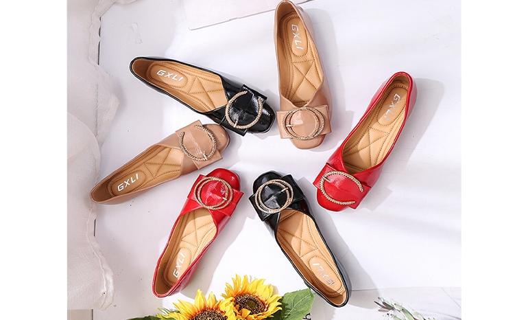 shoes female soft bottom comfortable Korean version