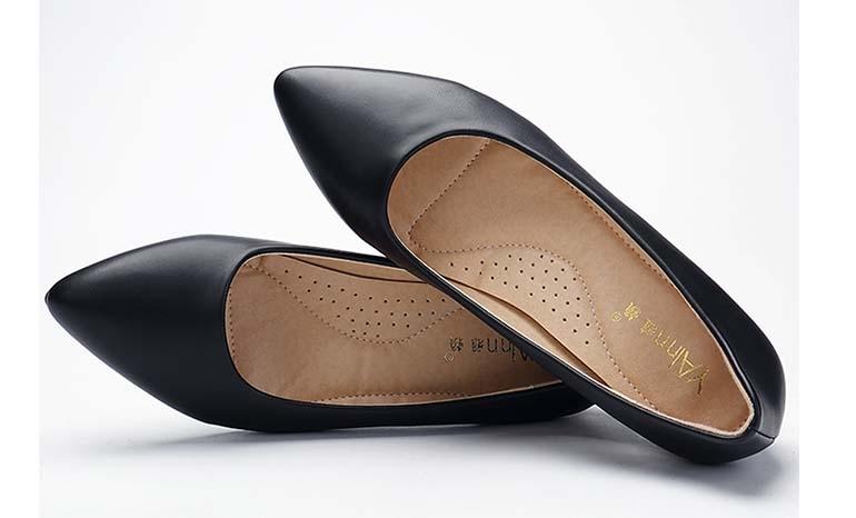 Ya Lai stewardess work shoes female