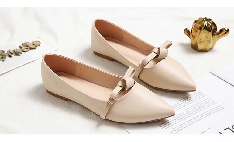 Flat peas shoes four seasons single shoes