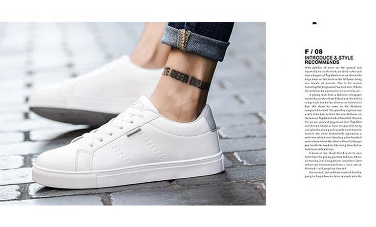 white shoes male Korean version