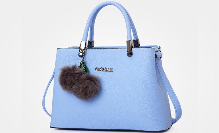 Simple wild hand bag