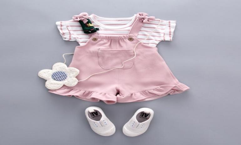 Beautifull baby girl dress 2019, summer cotton baby girl dress