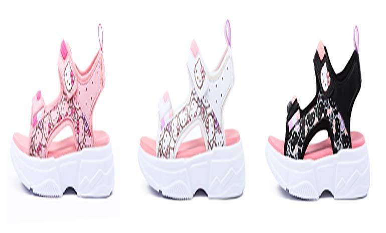 Hello Kitty Children's Shoes 2019 Summer New Girls Sandals Sports Beach Sandals Baby Girl