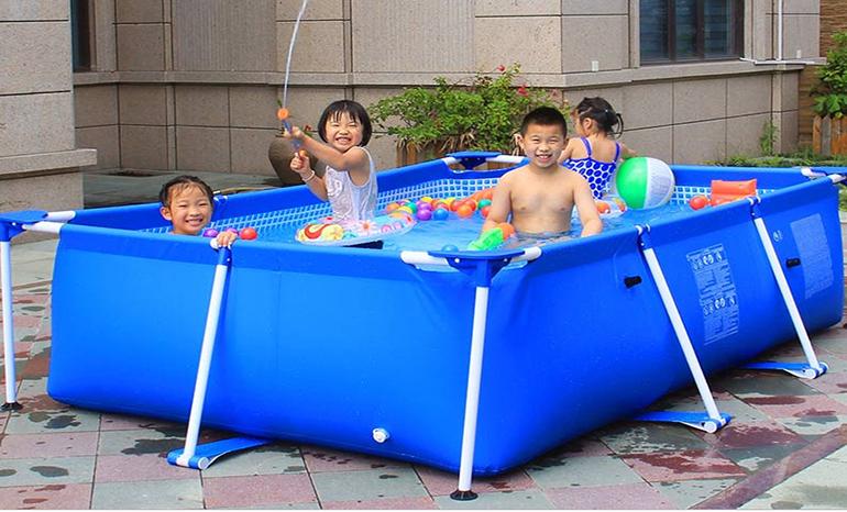 INTEX bracket children's pool home adult outdoor park fish pond