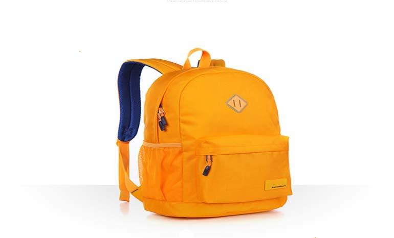 Backpack female and male bag