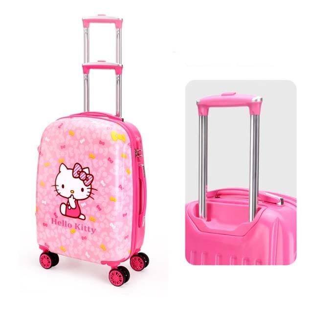 Hello kitty child trolley case