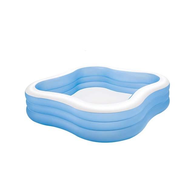 Blue child baby swimming pool