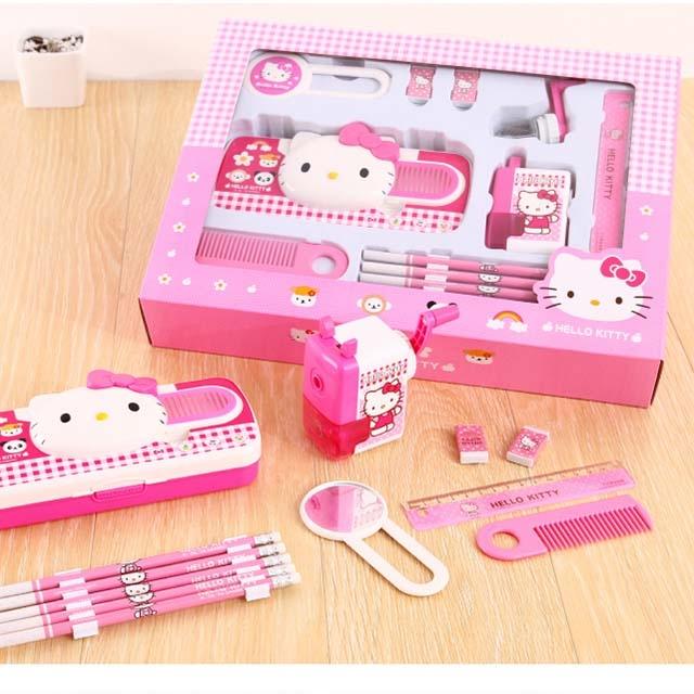 Primary school stationery set for girls