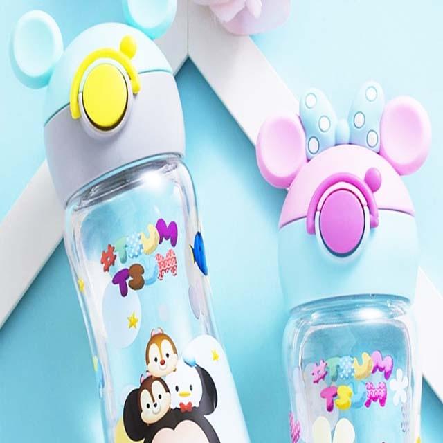 Disney children's straw cup portable primary school student