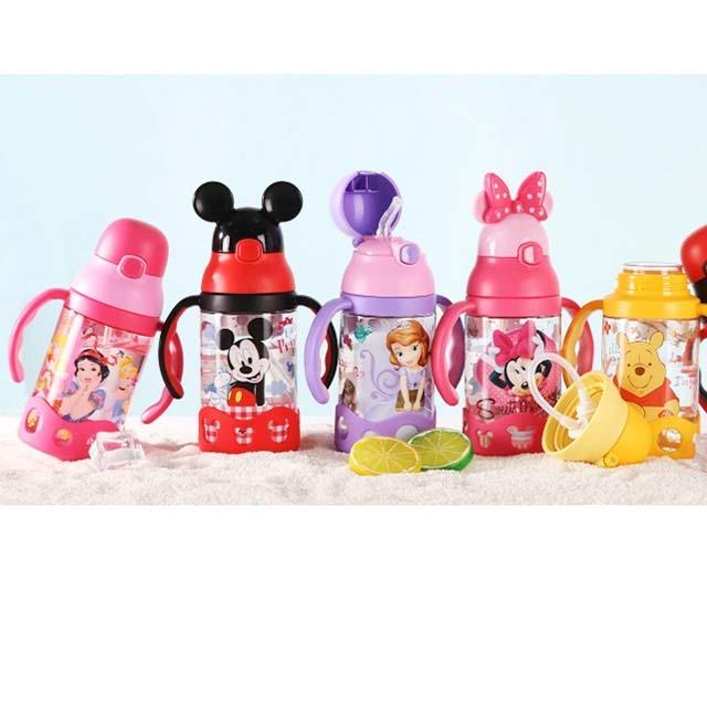 Disney children's straw cup plastic