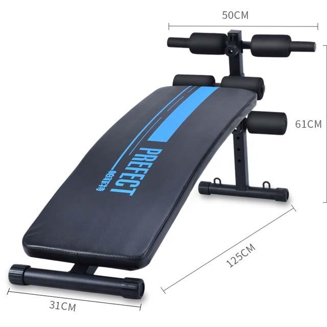 Multifunctional supine board fitness equipment