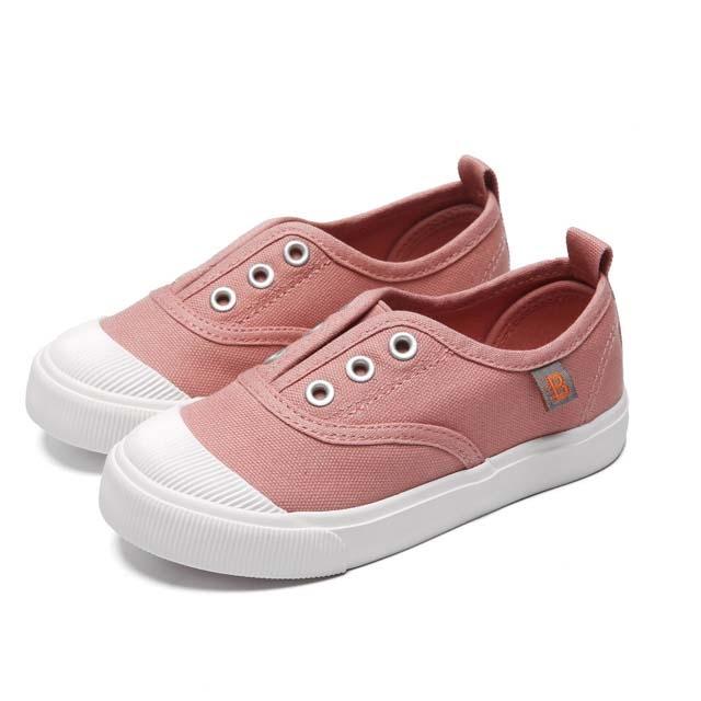 Children's canvas shoes Korean version.