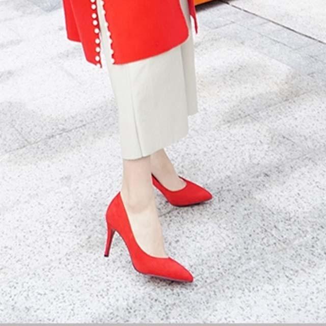 Stilleto high heels