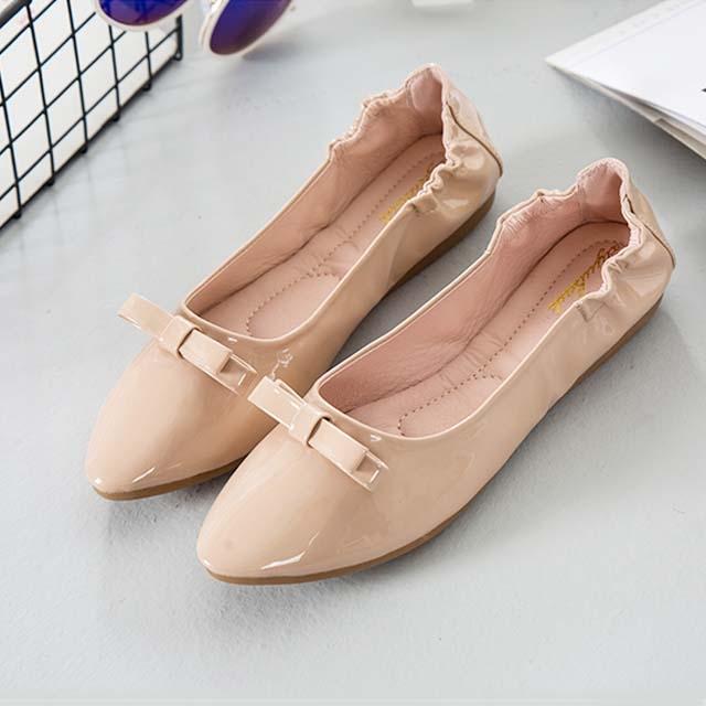 Egg roll single shoes female