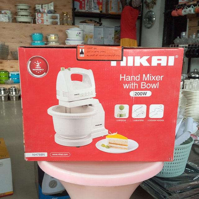 DeMo - Nikai Hand Mixer Machine with bowl 200W